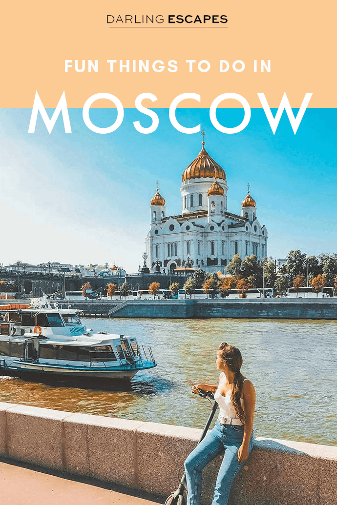 Moscow offers it all, and a quick glance at a map might make you feel overwhelmed with the endless amount of things to do in this gigantic city. We've done the hard work and we've put together the best things to do in Moscow! #Moscow #Russia