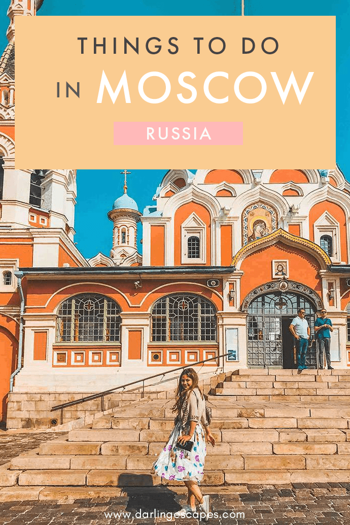 From cooking classes to metro tours, here are our favorite things to do in Moscow! #Moscow #Russia