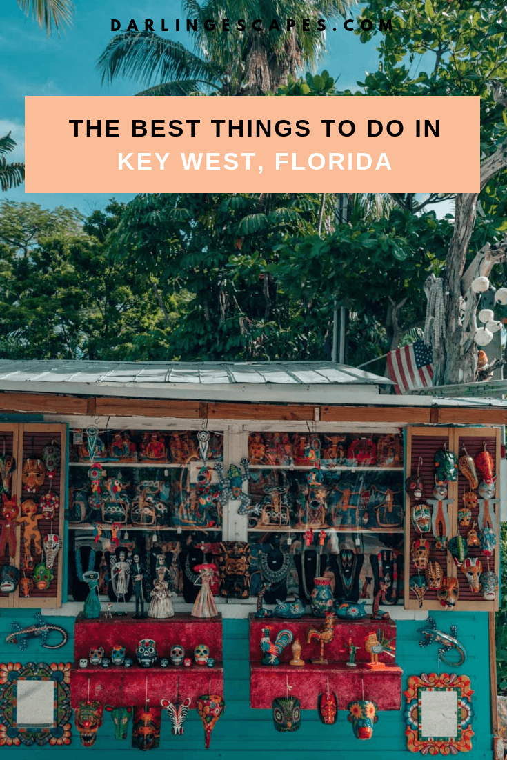Planning a trip to the Florida Keys and not sure what kind of things to do in Key West? This Key West travel guide has the hotels, food and activities covered. #Keywest #florida #Girlstrip