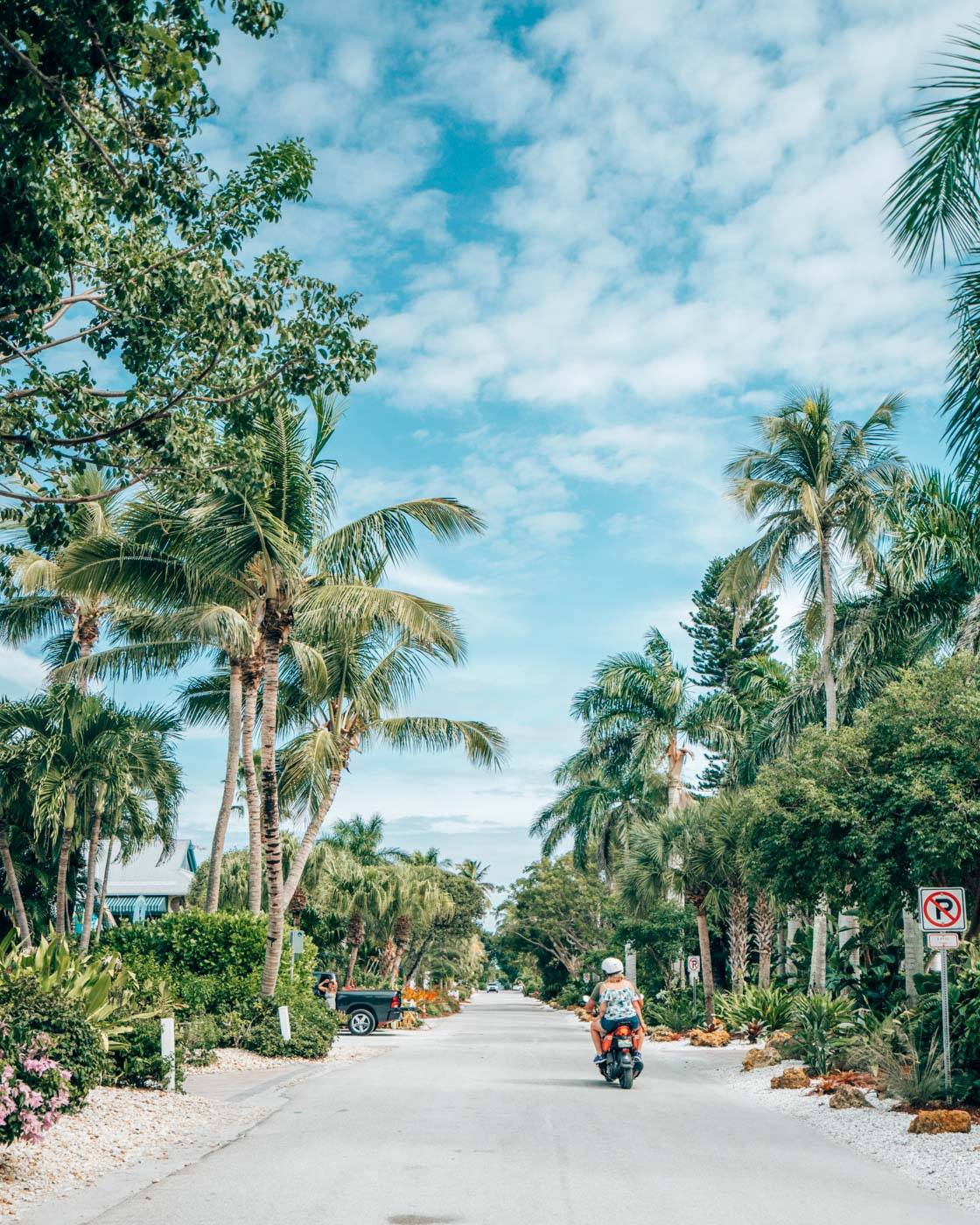 Exploring Fort Myers and Sanibel Island on a motor bike