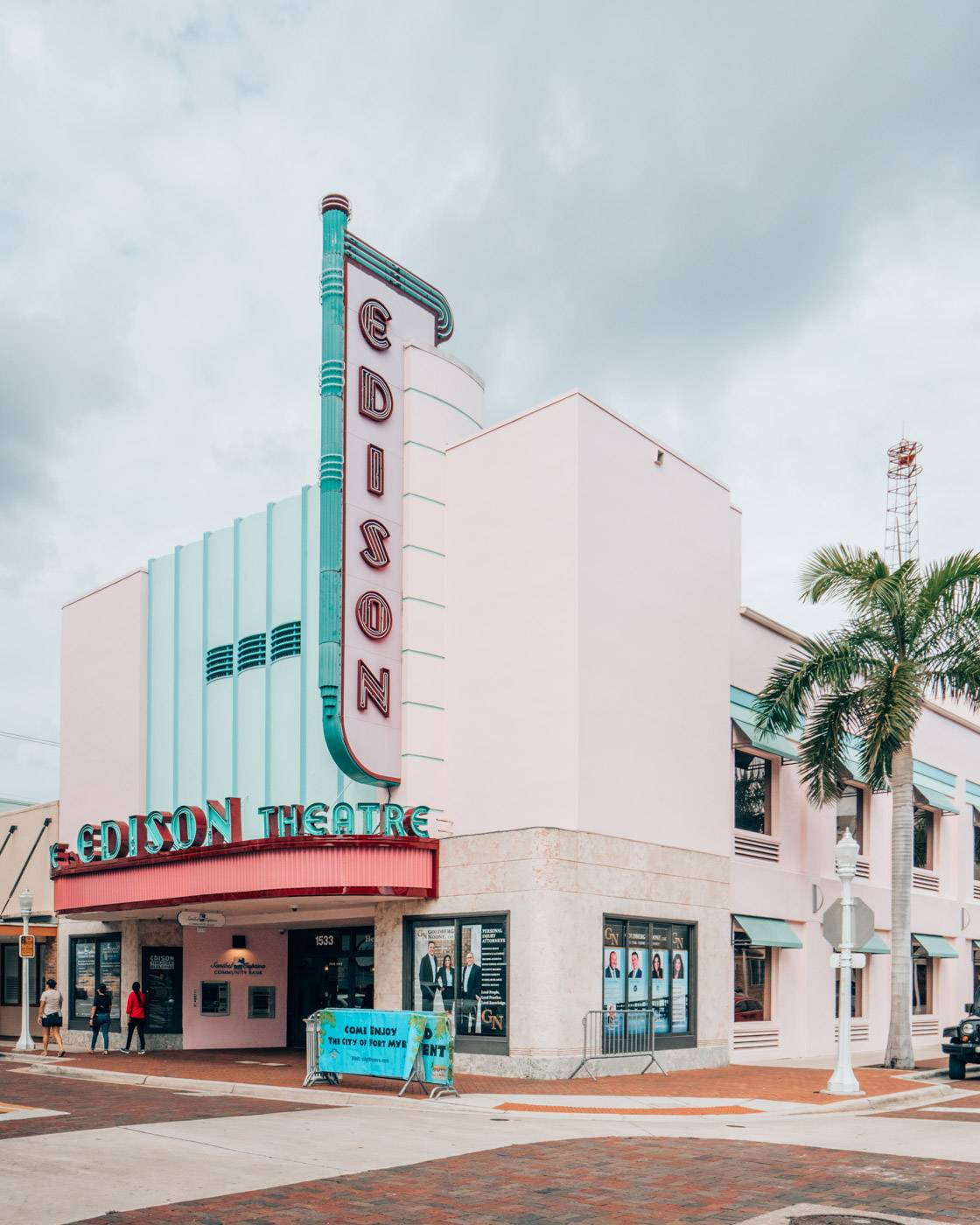 Exploring downtown Fort Myers including the Edison theatre is one of the best things to do