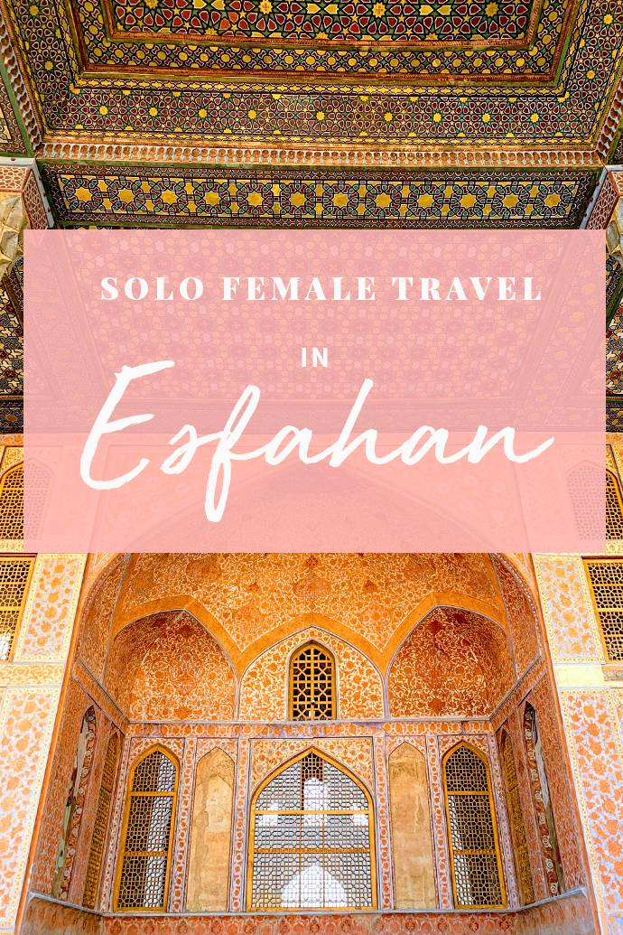 Dreaming of traveling the Middle East? This guide proves Esfahan is the best destination in the Middle East for female solo travelers. We also share our favorte things to do in Esfahan, where to eat, and where to stay! #Isfahan #Esfahan #Iran