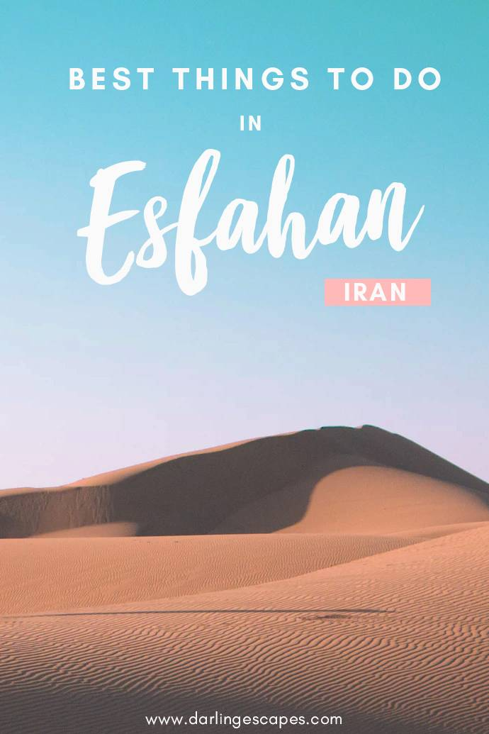 The ultimate guide to Esfahan, including the best things to do in Isfahan, where to eat, and where to stay as well as solo female travel tips to this incredible destination in Iran! #Iran #Esfahan