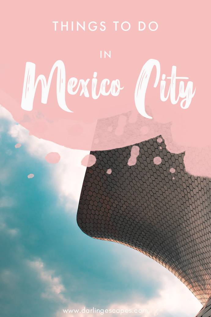 Looking for a perfect Mexico City itinerary? It's hard to narrow down the best things to do in such a huge city, so we've done the hard work for you and put together a list of the absolute best things to do in Mexico City! #MexicoCity