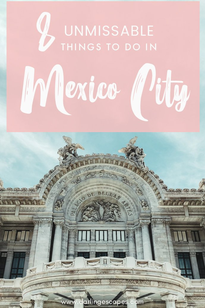 Wondering what activities to do in Mexico City? If you love art, great food, and historical goodness, we've got a list of eight unmissable things to do in Mexico City!