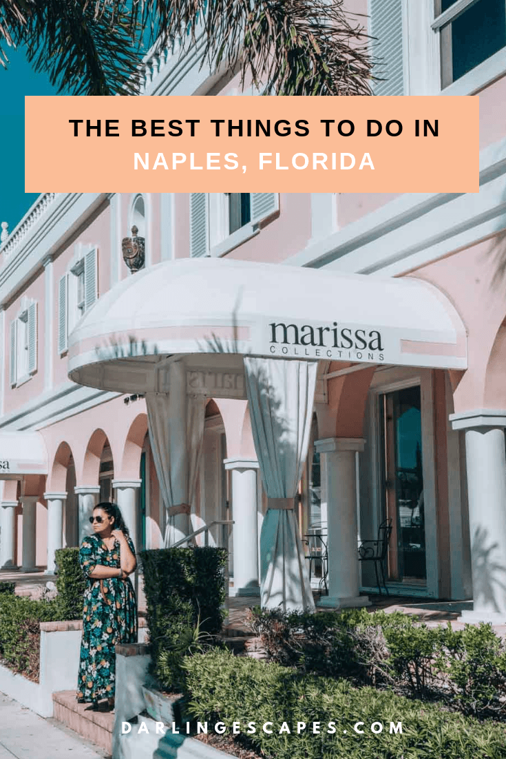 The ultimate guide of things to do in Naples Florida. Including where to shop, where to stay, and what to eat- including some of the best hotels for families in Naples with the best beaches. #Florida #Naples #USA