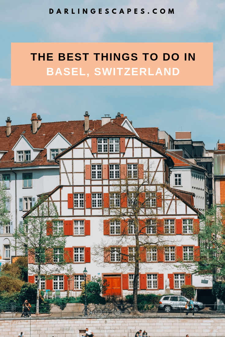 Basel forms the art lovers\' dream destination with a beautiful medieval town center. Here\'s a detailed travel guide on sights, hotels & restaurants in Basel, Switzerland (+ a DIY walking tour!) #inlovewithswitzerland