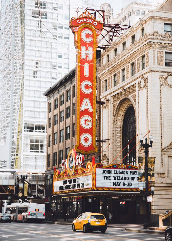Girlfriend getaway time! Always a top city for us to visit in the USA: Chicago is so good, they even wrote a musical about it ;)