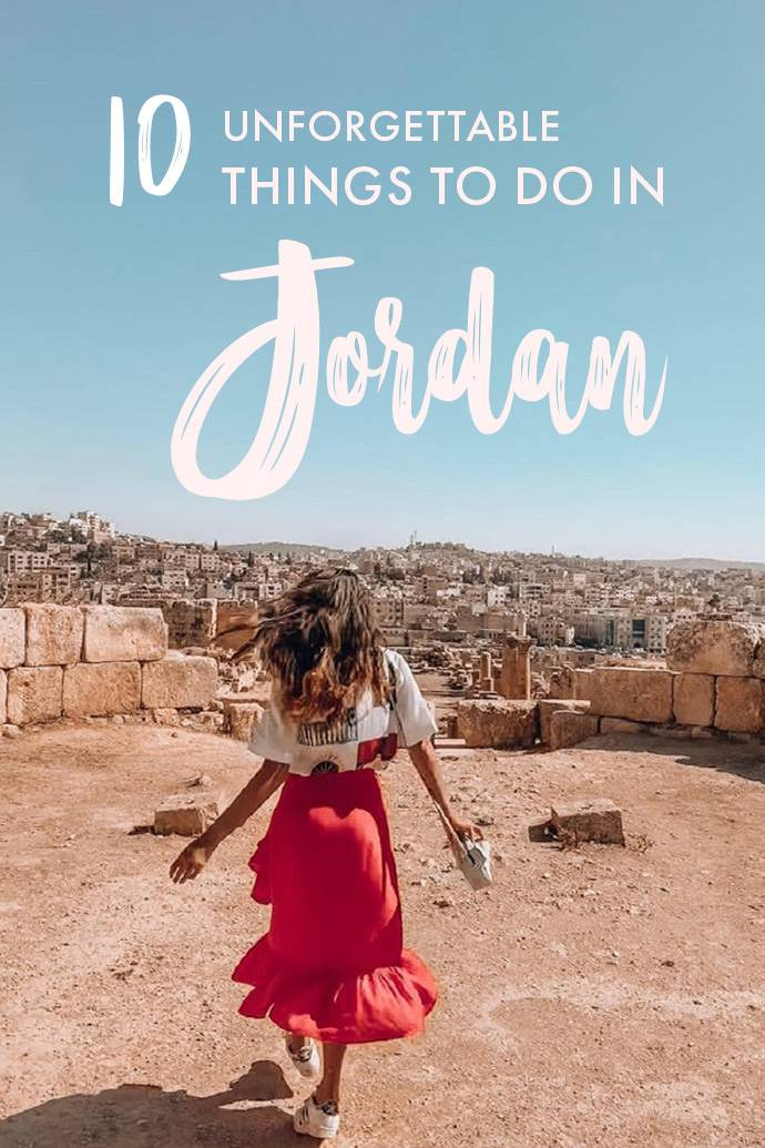 Planning a trip to Jordan and wondering what the best things to do are? We've got the perfect Jordan bucket list for you with the 10 most unforgettable activities, destinations, and things to do in Jordan!