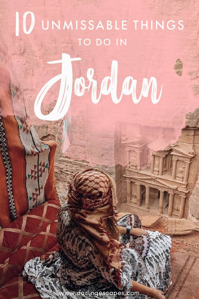 Planning a trip to Jordan and wondering what activities and destinations to add into your Jordan itinerary? We've got a list of 10 absolutely unmissable things to do in Jordan!