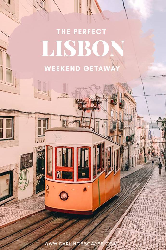 From friyay to sunday: here\'s all you need to know before visiting Lisbon on a girls-getaway. What the best sights are, how far to walk, and where to get drinks - we\'ve set up a detailed schedule on all must-sees you and your girls can enjoy for a weekend of fun. 