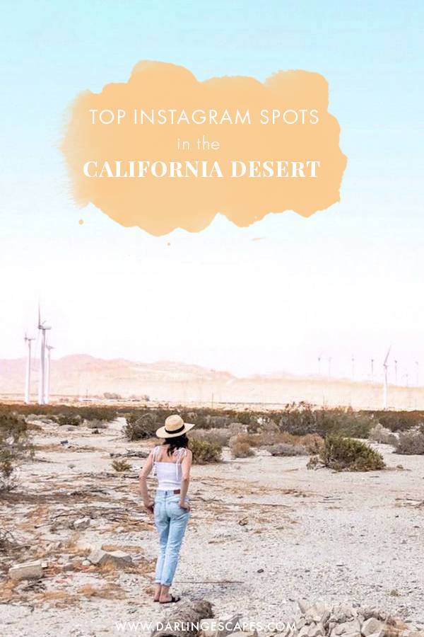 Planning a California Desert road trip this summer and wondering what the most instagrammable spots in California are? Here are a few of our favorite photo spots!