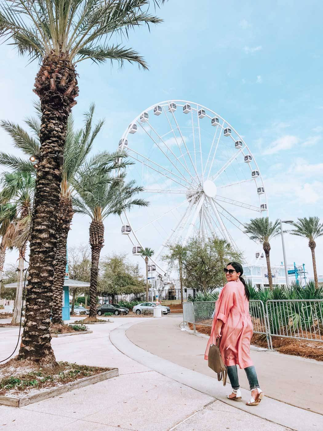 Looking for things to do in Panama City beach? We have you covered- with places to go, things to see and where to eat- including St Andrew's State Park. #VisitFlorida #Panamacitybeach