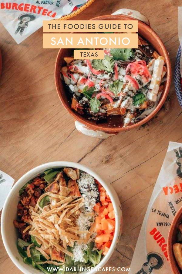 Most don't know this, but San Antonio is one of the best foodies destinations in the USA and we've put together the ultimate travel guide for foodies with the best restaurants to eat in when visiting San Antonio, Texas! #Texas