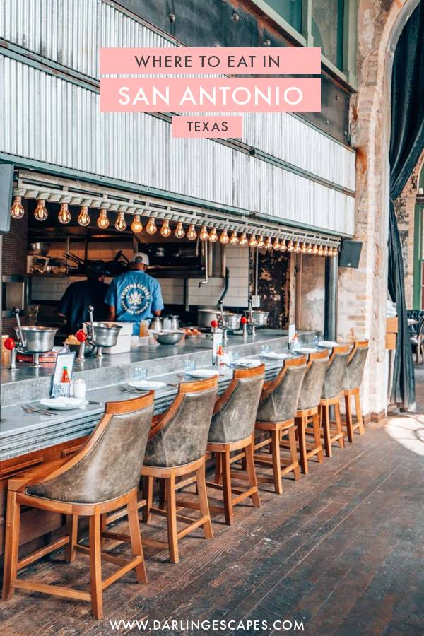 Texas best kept secret: The incredible foodie scene San Antonio has to offer! If you are visiting San Antonio anytime soon, here are the best restaurants in town that you shouldn't miss!