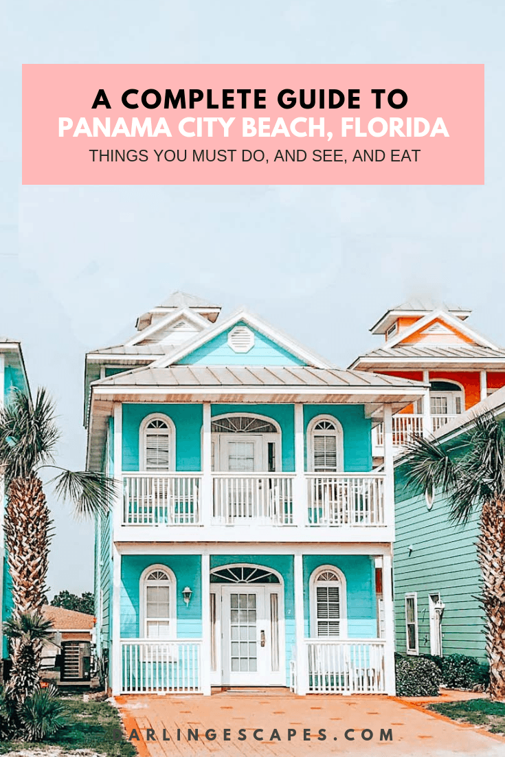 Looking for things to do in Panama City Beach? We have you covered- with places to go, things to see and where to eat and where all the best beaches are #VisitFlorida #Panamacitybeach