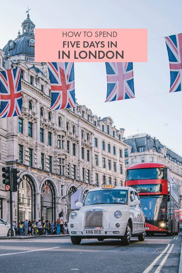 Wondering how to spend five days in London? Here's the ultimate five day itinerary to the British capital with all the best things to do in the city!