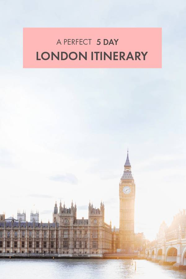 A city guide written by a local - let's grab all the highlights London has to offer with this ultimate 5-day itinerary!  It's still possible to get a feel of the 'real' London without skipping the highlights such as Tower Bridge or the London Eye. Follow this 5-day itinerary that takes you all throughout London - seeing a variety of neighbourhoods and even grabbing the time for a day trip.  The sightseeing options in England's capital city are endless - so let's help you off to a great start!