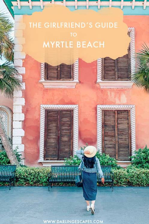 The best things to do in Myrtle Beach- including a trip to Broadway at the Beach. Find out where to eat, shop, and what to see in Myrtle Beach. #USA #Girlstrip
