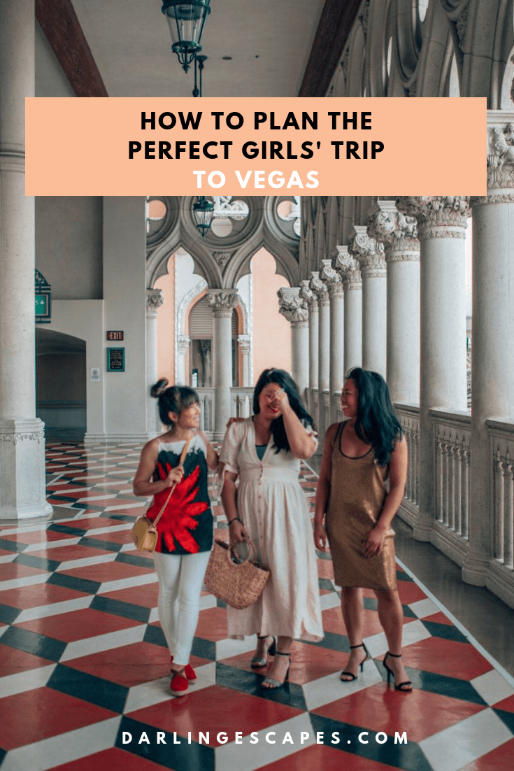 Never a dull moment on a girls' trip to Vegas - all you need are the fun sights in our Vegas guide and your best gals