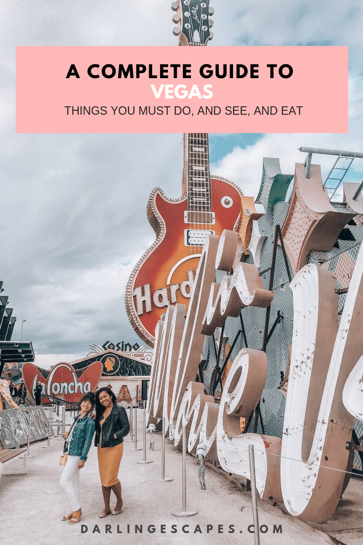 A girls' trip to Vegas isn't complete without striking a pose for the gram - the NEON museum is perfect for that. Plan the perfect girls trip to #Vegas including where to stay, what to eat and things to do.