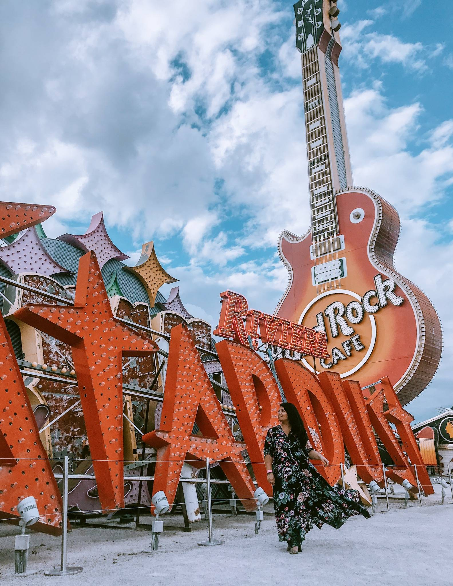 A girls' trip to Vegas isn't complete without striking a pose for the gram - the NEON museum is perfect for that