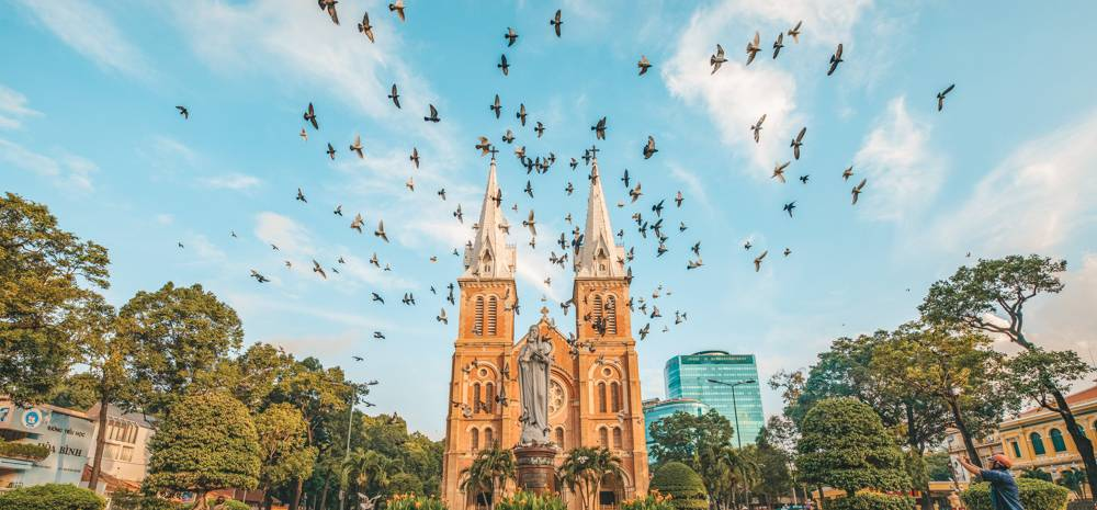 Notre Dame Cathedral is one of the best thing to do in Ho Chi Minh City: moreover, the entire area around it is filled with Saigon's best sights in walking distance