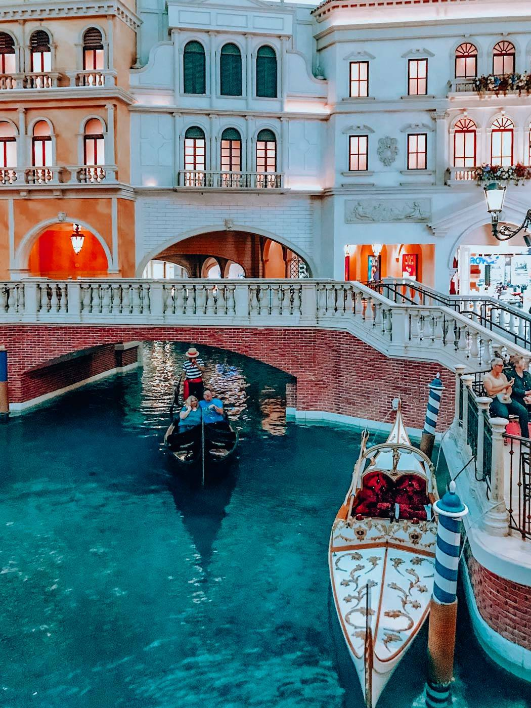 A girls' trip to Vegas can't be complete without hitting up the gondola in the Venetian!