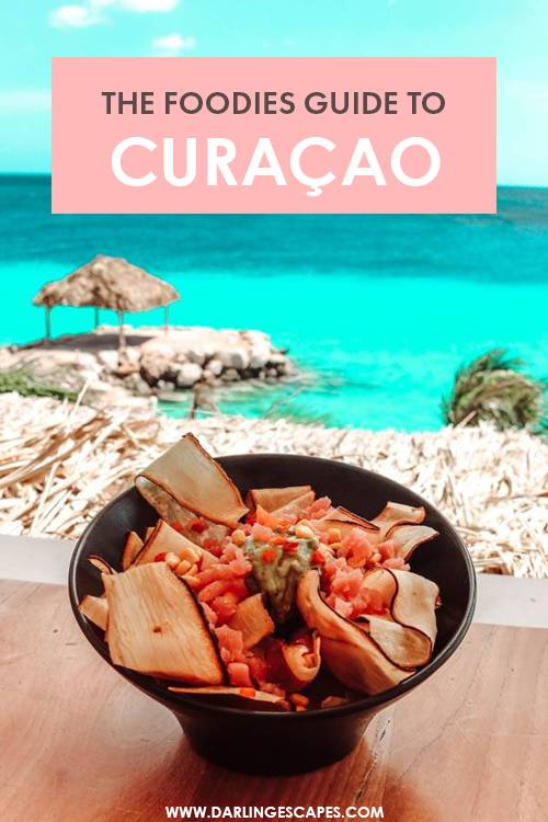 Curacao is all about dreamy beaches and colorful buildings, but its foodie scene doesn't fall far behind! We've put together the ultimate foodies guide to Curacao with our favorite dining spots and restaurants on the island!