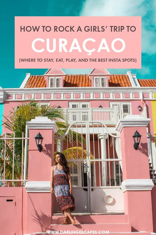 Dreaming of your next Caribbean getaway? Curacao is our favorite destination in the Caribbean and here\'s everything you need to know to plan the perfect girls\' trip to Curacao, including a foodies guide, tips on where to stay, and the best things to do in Curacao! #Curacao #Caribbean
