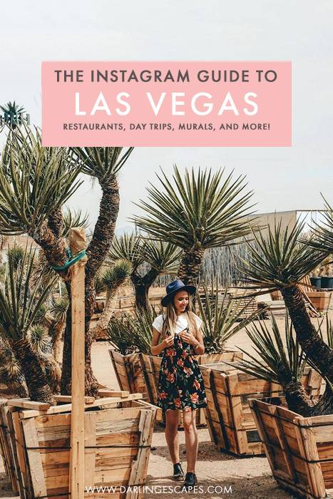 Looking for the most instagram worthy spots in Las Vegas? On this travel guide to Las Vegas, we share our favorite photo spots and colorful places in Las Vegas that you must visit, including day trips, restaurants, and more! #Vegas