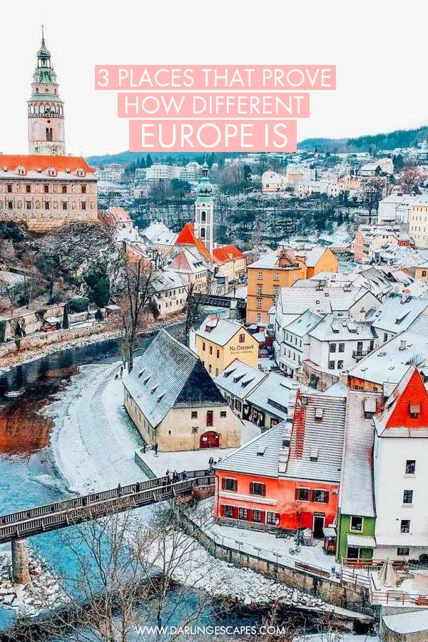 Three places in Europe that prove how different and varied the cultures, architecture, and vibes are around the continent. From The Netherlands to Latvia, here are three cities in Europe that you can't miss on visiting!