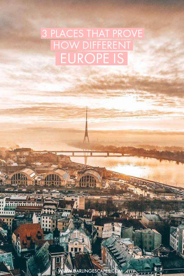 3 European destinations that prove how wonderfully varied the continent is, from old-world charm to modern cities and fairytale-like towns, here are three cities in Europe you have to visit if you want to see a lot of variety on your trip.