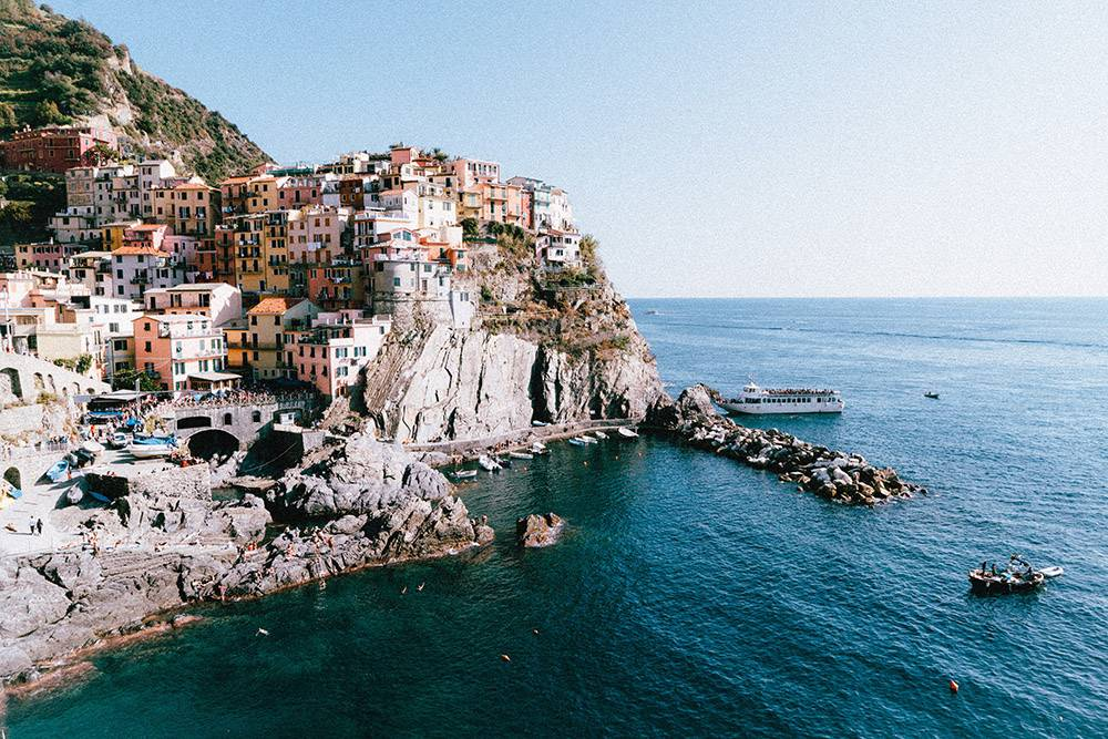 A visit to the beautiful area of Manarola in Italy is a no brainer and one of the hidden gems in Europe we'd recommend to visit