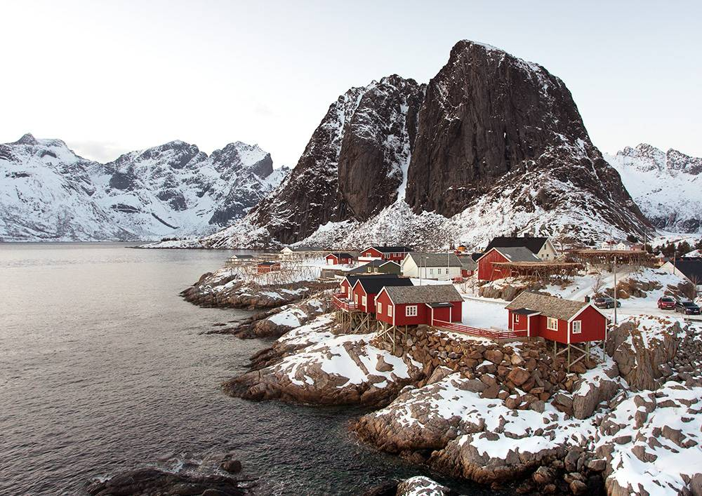 Are some hidden gems in Europe hidden because they're too cold? Don't fret, Reine in Norway is well worth it