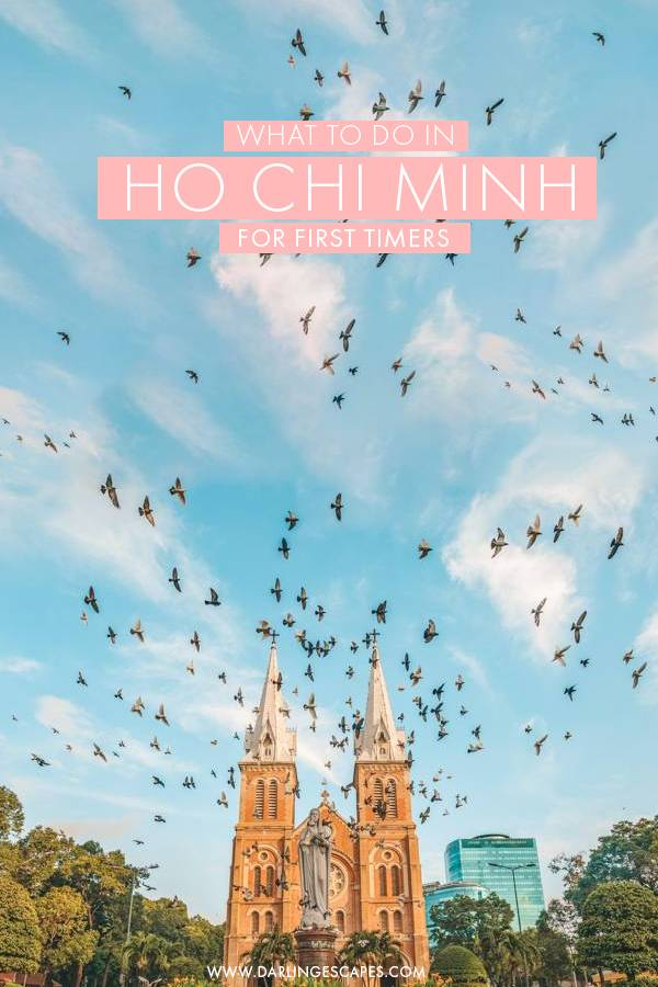 First time in Ho Chi Minh? We've got the absolute best things to do in HCMC for first-timers! From top attractions to fun things to do, this guide is everything you need to plan your Ho Chi Minh City itinerary! #HCMC #HoChiMinh #Vietnam