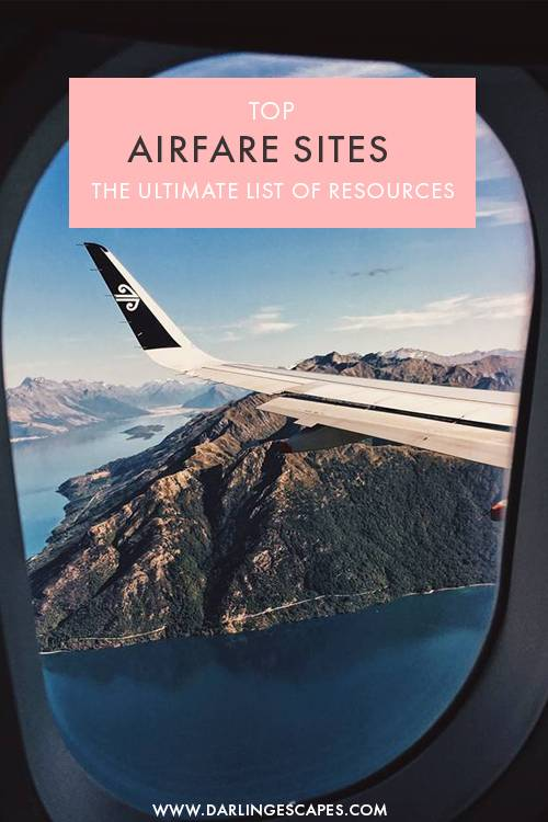 Wondering how to find the best flight deals online? We've put together the ultimate list of online resources to help you find the best airfare prices and routes in no time! #Travel #Flights