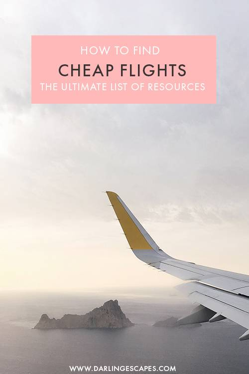 Wondering how to find cheap flights for your next getaway or holiday? On this post, we round up the absolute best travel apps to find cheap flights easily. From the best flight deals to secret tricks, these are the only resources you need to find the best flight deals out there! #Travel