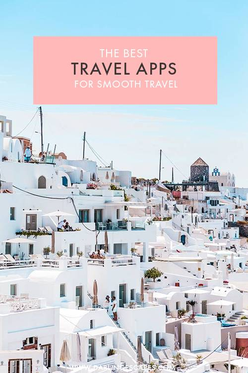 A great list of the 20 best travel apps that will help you save time and make your next trip organized and more enjoyable. This detailed list includes apps for itineraries, budgeting, vegan spots, to find the cheapest hotels, offline maps and many more!