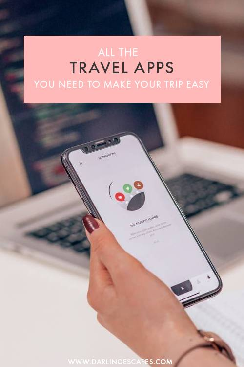 Wondering how to make your next holiday or trip easier? We've made a list of the very best travel apps that will make your time abroad so much easier! From the best GPS maps to the ultimate restaurant finder, these apps will make your travels smoother! #Travel