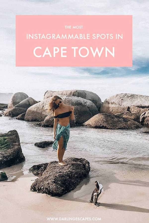 Looking for the most instagrammable spots in Cape Town? South Africa is a photographer's dream and Cape Town isn't short of incredible photo spots. We've rounded up the most insta worthy places to take pictures in Cape Town in this guide! #CapeTown #Africa