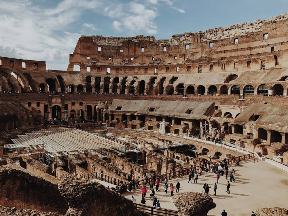 We all know the Colosseum, but access to the arena floor isn't generally included... making this one of our hidden gems in Rome!