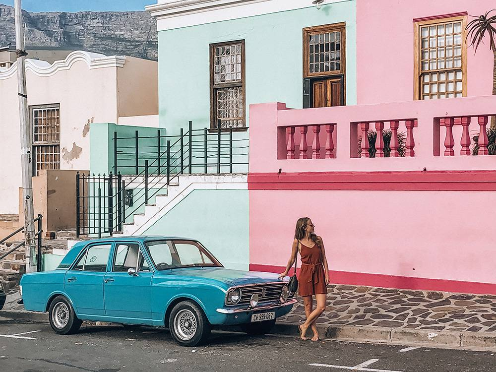 Topping high on any list of Instagrammable spots in Cape Town: the vibrant colors of Bo Kaap speak for themselves