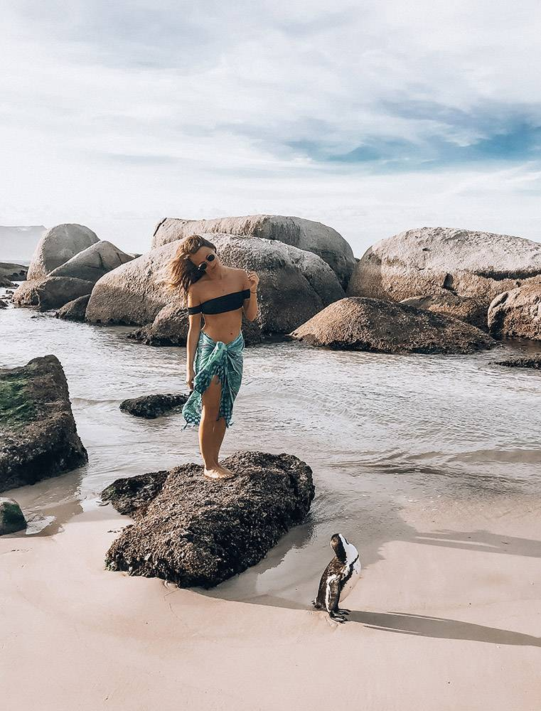 You simply can't NOT love penguins, so the crew at Boulders Beach is one of the best Instagrammable Spots in Cape Town