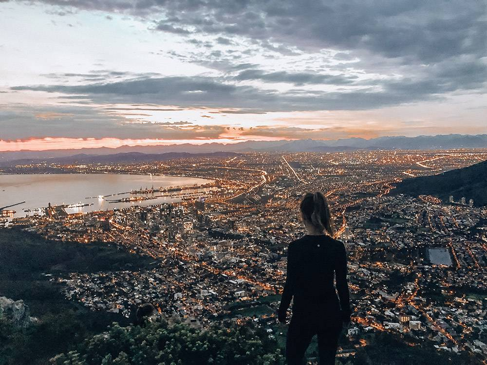 Lion's Head in South Africa is not only fit for the perfect hike, but bring your camera too - it's one of the best instagrammable spots in Cape Town