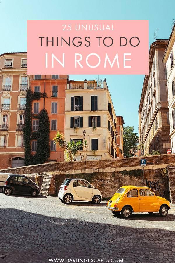 25 Hidden Gems in Rome You Won\'t Find in a Guidebook