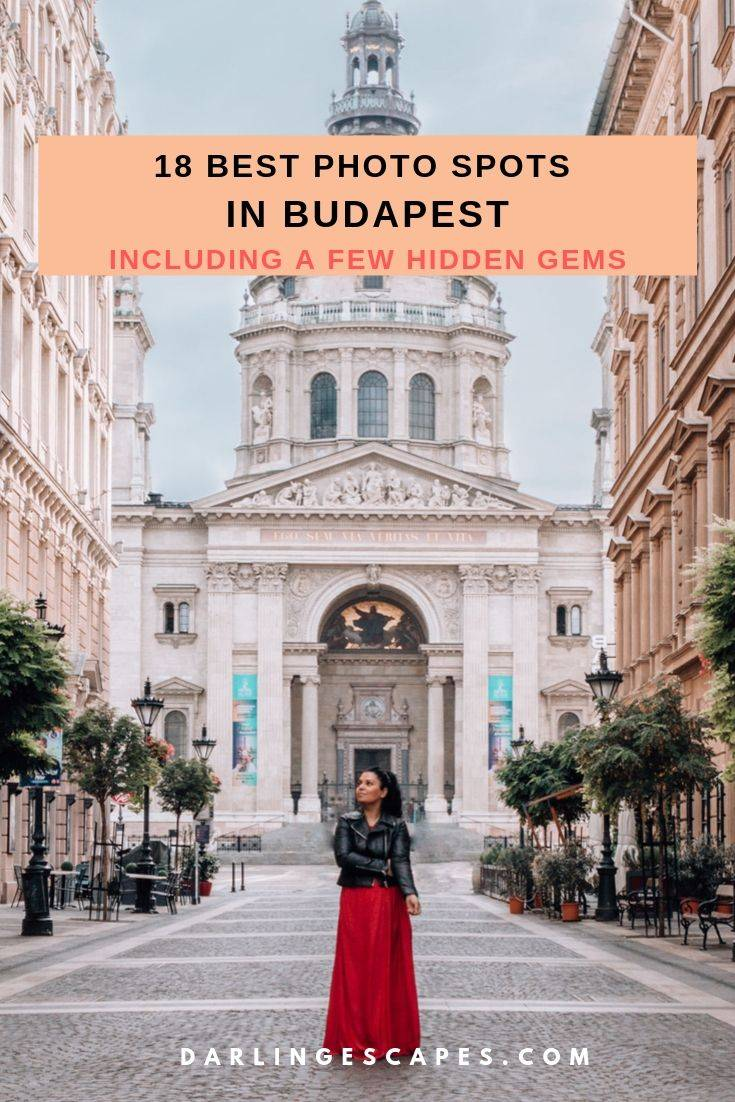 Looking for the best photo spots in #Budapest to up your photography game? We have you covered with 18 of the best points (including a few hidden gems)that photographers and Instagrammers will love! #hungary Instagram Spots In Budapest | Best Instagram Spots In Budapest | best Instagram photo locations in Budapest | Budapest travel destination | best lookout points in Budapest | beautiful scenery in Budapest | where to go in Budapest | what to see in Budapest | cute travel photos in Budapest