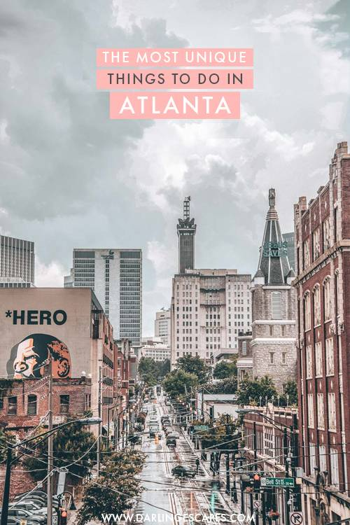 The most amazing and unique things to do in Atlanta, Georgia. If you love exploring a city like a local and finding hidden gems, these are the must-do's in Atlanta to get you started! #Atlanta #USA