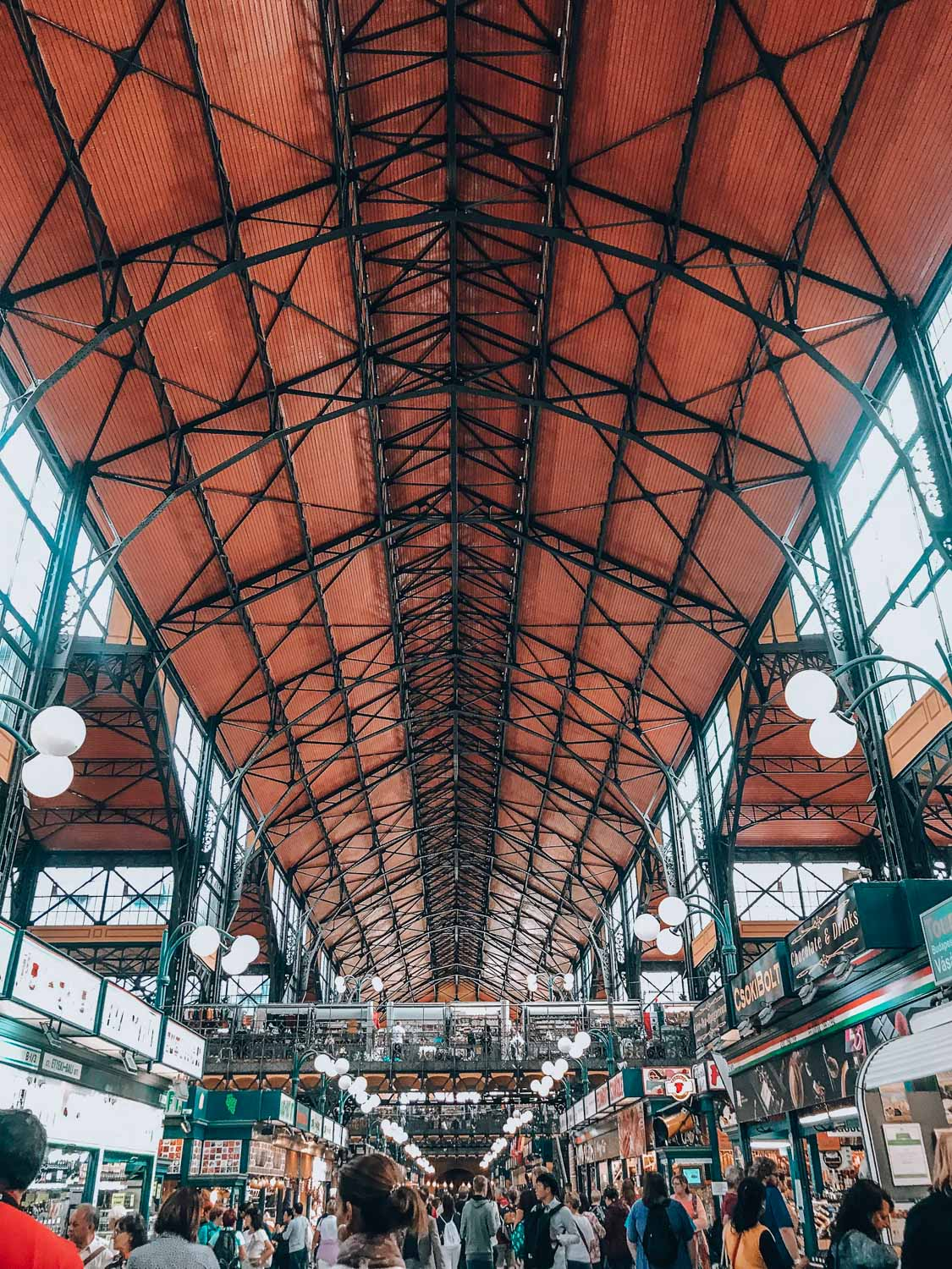 The Great Market Hall in Budapest is one of the best photo spots and needs to be on your list.