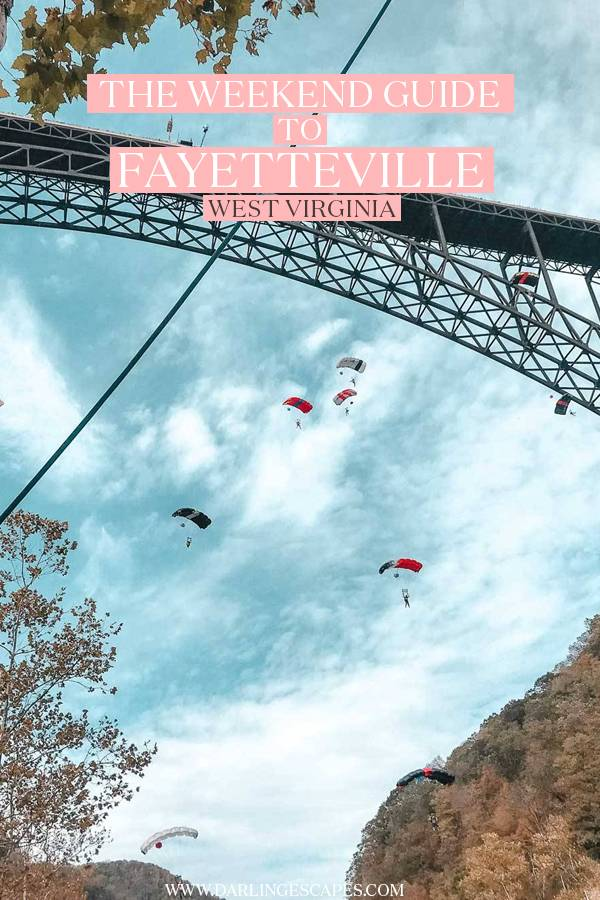 Planning a weekend getaway in Fayetteville, West Virginia? On this travel guide to one of the coolest destinations in USA for adventure lovers, we highlight the best things to do, top attractions to visit, where to stay, and things to know to plan the perfect trip to Fayetteville, West Virginia!